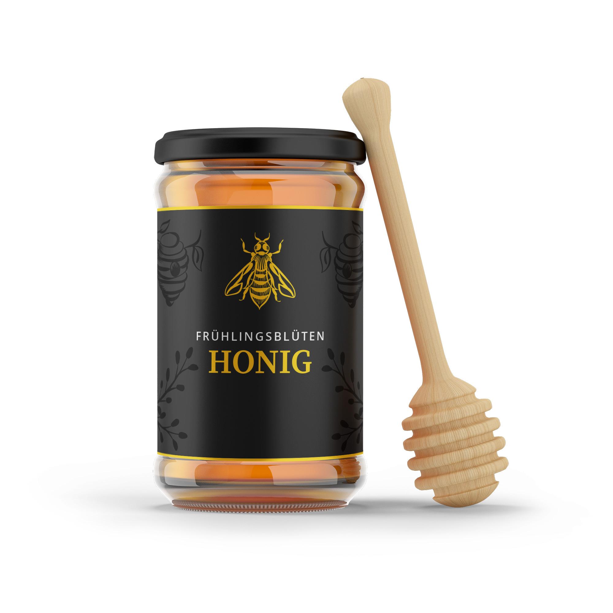 Frühlingsblüten Honig