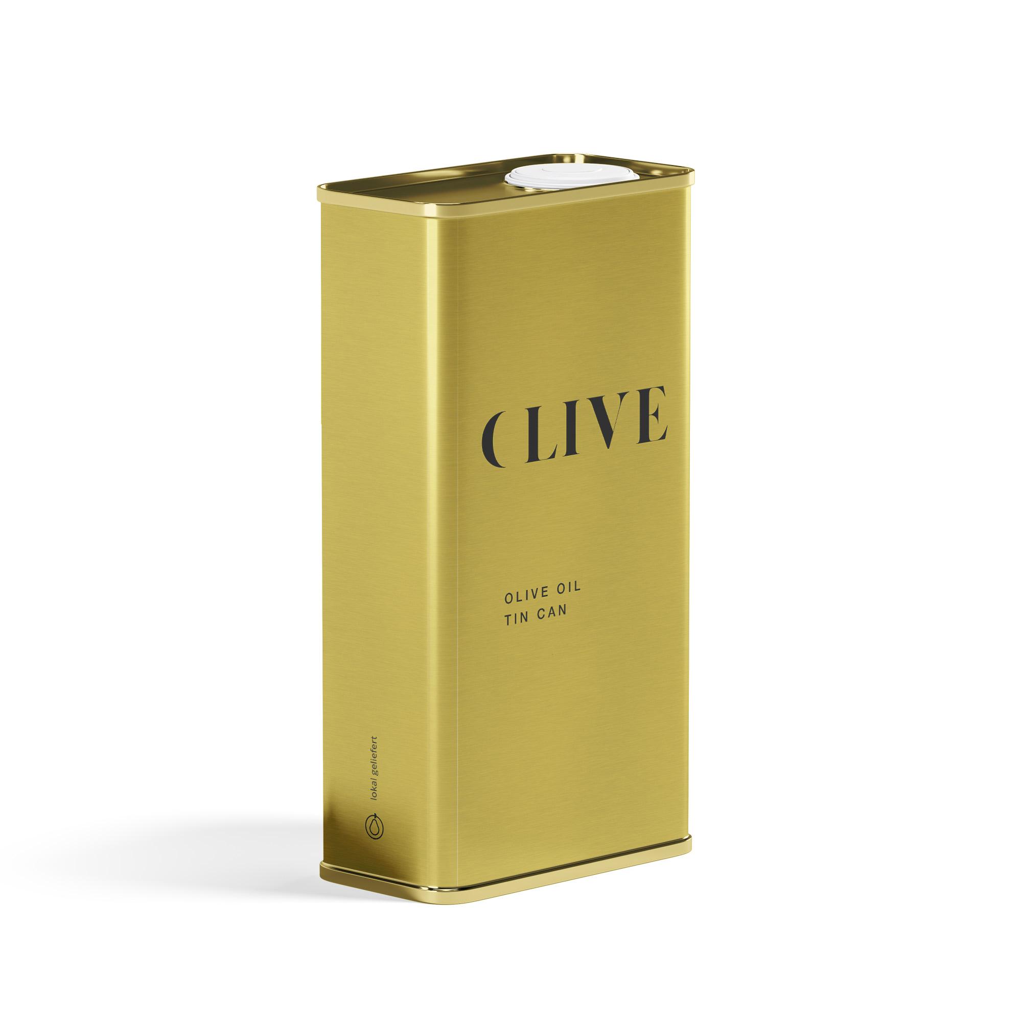 Bio natives Olivenöl Extra mit Zitrone